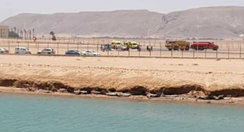 مصر: سقوط طائرة خاصة في مطار الجونة