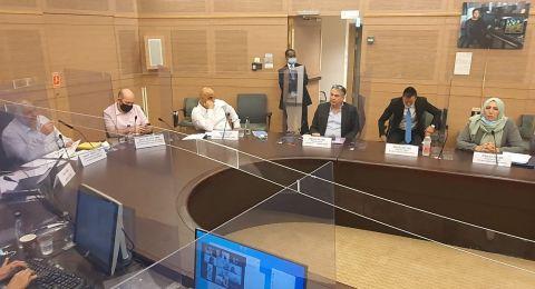 لجنة مكافحة العنف تناقش خطة وزارة التربية لمكافحة العنف في المدارس الدرزية والبدوية والشركسية
