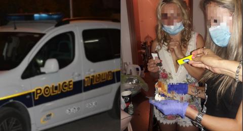 صورة: مداهمة بيت دعارة في حيفا وتوقيف سيدتين إحداهما من الناصرة
