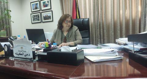 وزيرة الصحة الفلسطينية: الزيارات والرحلات الى مناطق الـ48 سببب رئيسي وخطير لتفشي فايروس كورونا