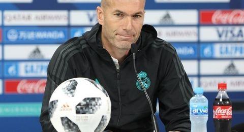 زيدان يعلن قائمة ريال مدريد لمواجهة مانشستر سيتي في دوري الأبطال