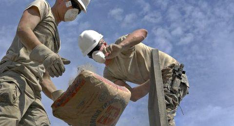 توصية باعتماد نموذج جديد بشان تشغيل العمال الفلسطينيين في فرع البناء