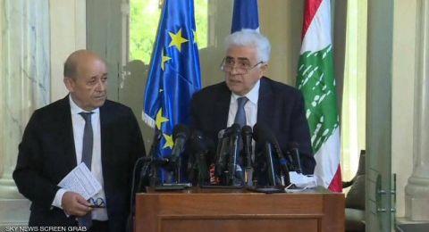 وزير الخارجية اللبناني يقدم استقالته من الحكومة