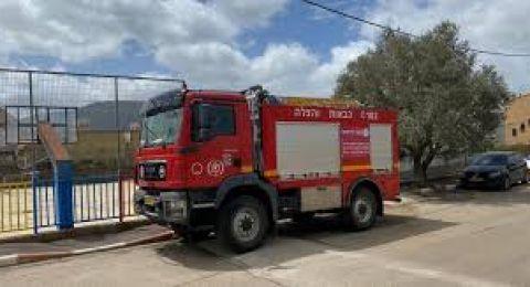 اندلاع حريق في منطقة احراش وعرية بمنحدرات القدس