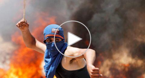 إصابات خلال قمع الاحتلال مسيرة سلمية في ترمسعيا