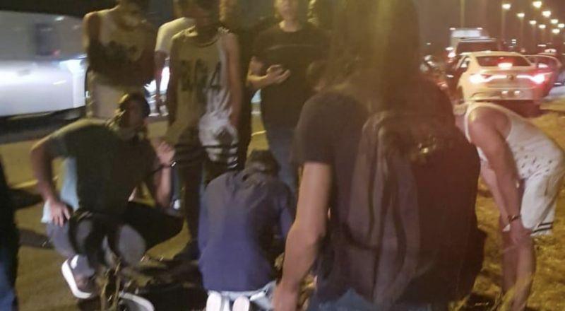 تعرّض طفل من جلجولية للدهس على شارع 6 وحالته خطيرة