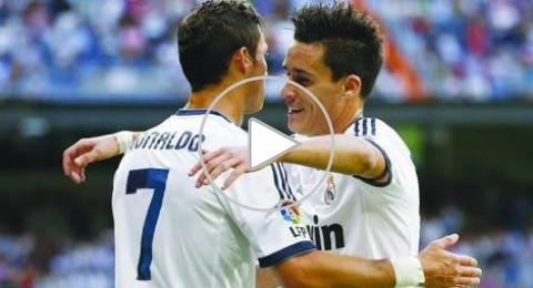 ثنائية لرونالدو وفوز اول لريال مدريد على غرناطة
