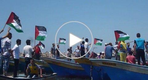 تنظيم مسيرة بحرية جديدة لكسر الحصار عن غزة