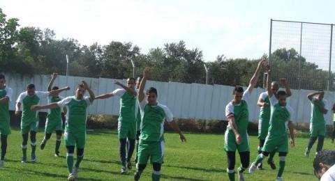 كأس الدوري الاسلامي النور الفحماوي يدق مرمى ابطن دزينة اهداف