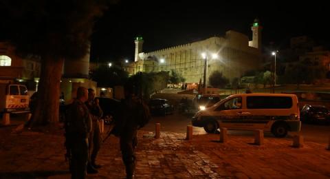 السُلطات الاسرائيلية ستغلق الحرم الابراهيمي لمدة 6 ايام