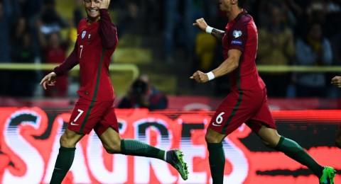 كريستيانو يقود البرتغال لسحق أندورا