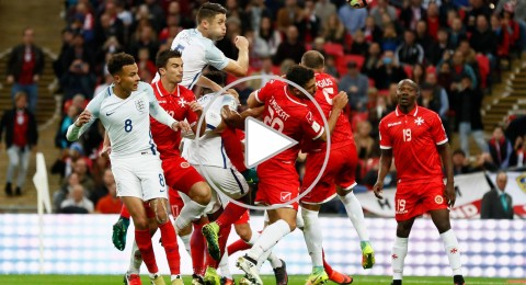 إنجلترا تهدر فوزا عريضًا..وتكتفي بهدفين أمام مالطا