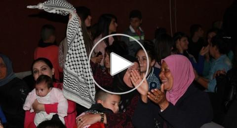 مجد الكروم : المئات يرقصون على صوت هيثم خلايلة وسط تفاؤل كبير