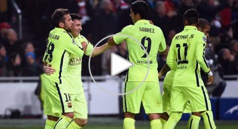 برشلونة يتأهل الى الدور الثاني بثنائية ميسي التي عادل بها راؤول