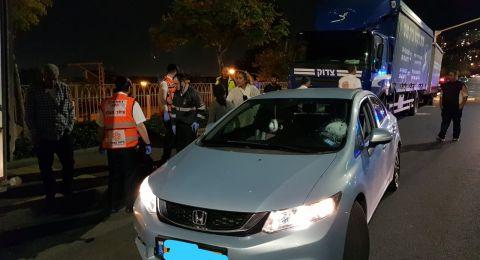 حيفا: حادث دهس واصابة طفلة ورضيعة بصورة صعبة