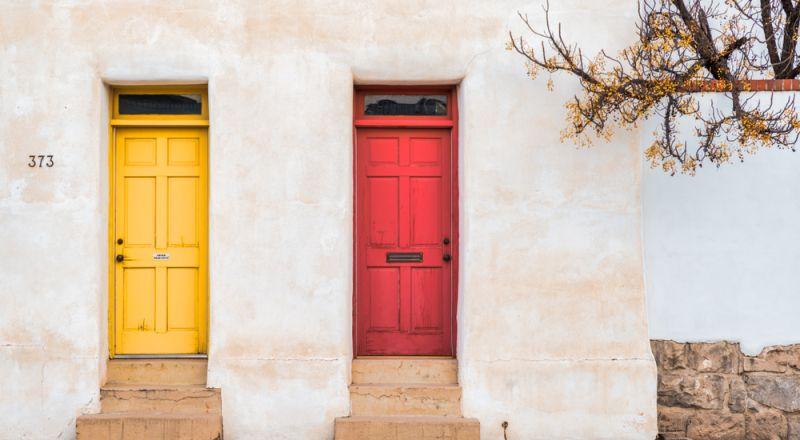 الوان أبواب خشب للمنازل