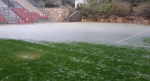 تأجيل مباراة الاخاء النصراوي وبيتح كفا بسبب الامطاراضافة لمباريات اخرى