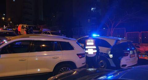 حيفا: مطاردة بوليسية واطلاق نار على شابين