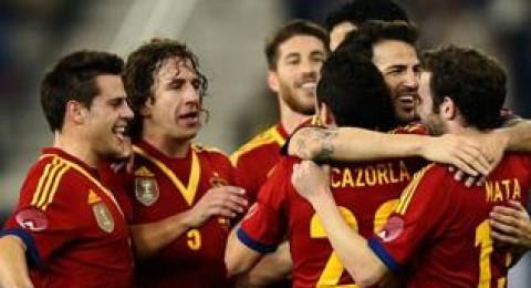 اسبانيا تهزم الاوروغواي (3-1)