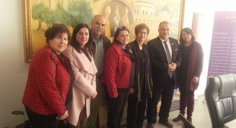 جمعية يسوع الناصري الخيرية تلتقي رئيس بلدية الناصرة