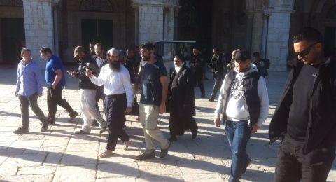 محافظ القدس يحذر من عواقب اقتحام  وزير الزراعة الاسرائيلي للمسجد الاقصى