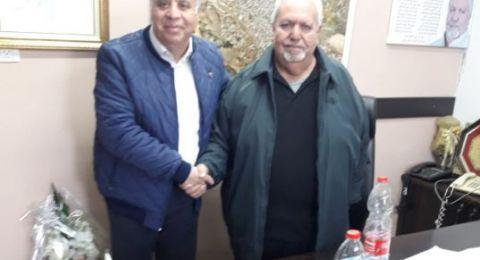 جلسة عمل مثمرة بين سلطة الإطفاء والإنقاذ ورئيس بلدية شفاعمرو عرسان ياسين