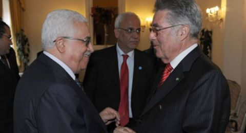 عباس يستقبل نظيره النمساوي في رام الله