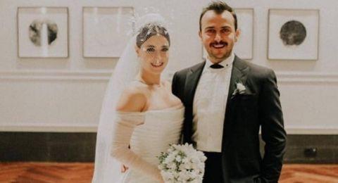 زفاف رومنسي فخم للنجمة هازال كايا