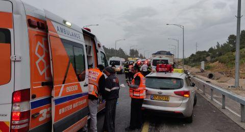 مصرع شابة واصابة 7 بحادث مروع في الغور