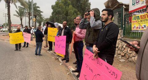 قلنسوة: وقفة احتجاجيّة غاضبة ضد هدم البيوت