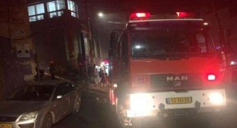 عرابة:اندلاع حريق في منزل بسبب موقد حطب
