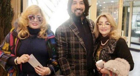 سهير رمزي وشهيرة تخلعن الحجاب وتظهرن بشعر اصفر!