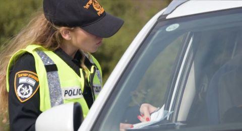 4000 مخالفة و71 سائقًا ثملً في حملة للشرطة بنهاية الاسبوع