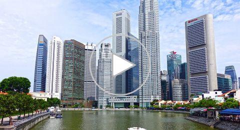 زيارة إلى سنغافورة المتعددة الثقافات الآسيوية