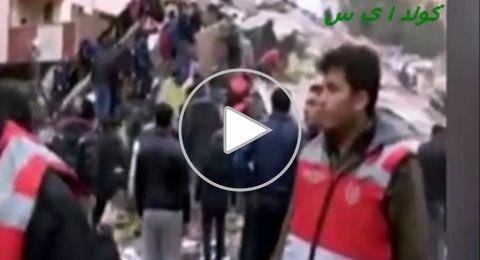 كارثة في إسطنبول.. انهيار مبنى كبير وسقوط ضحايا