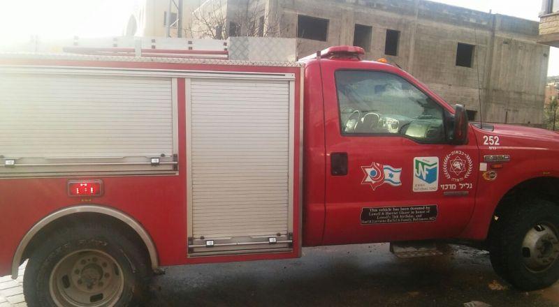 يافة الناصرة: اصابة خطرة لمسنة نتيجة لحريق في منزلها
