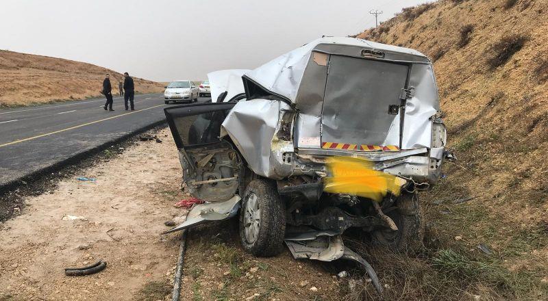 5 إصابات بينها خطيرة بحادث طرق مروع قرب الكسيفة