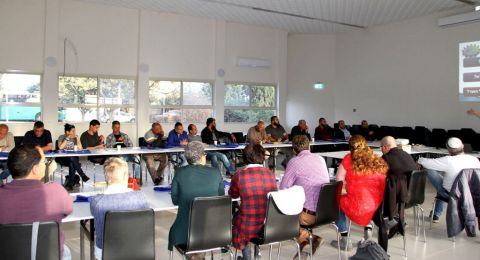 لأول مرة في الجلبوع: دورات تدريبية واستكمالية للجان المحلية