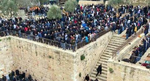 أوقاف القدس ترد على تهديدات الاحتلال بشأن باب الرحمة