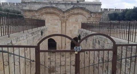 مصدر أردني: حل مؤقت يلوح في الأفق لأزمة باب الرحمة في الأقصى