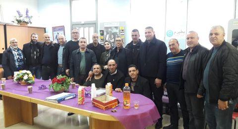 يافة الناصرة: اللجنة القطرية لأولياء أمور الطلاب العرب تعقد جلستها الدورية