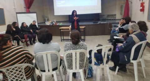 محاضرة لجمية السيلياك العربية بمدرسة يسوع الطفل