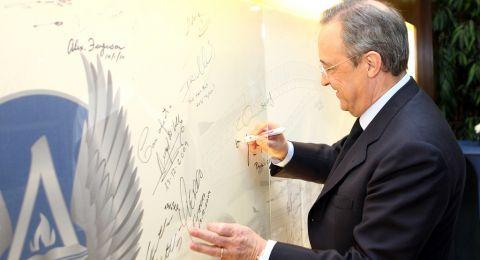 رئيس ريال مدريد يقترب من اتخاذ