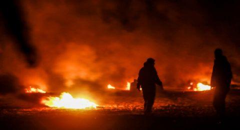 الطيران الإسرائيلي يضرب مواقع لحماس في غزة