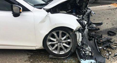 الطيبة :إصابتان طفيفة ومتوسطة في حادث طرق