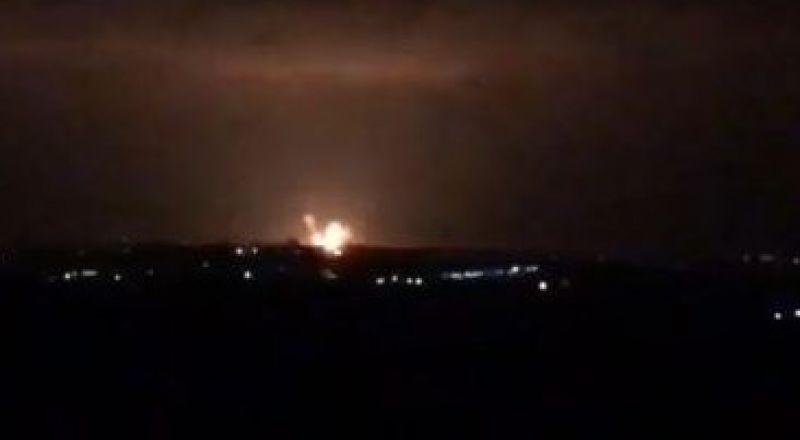 الطيران الاسرائيلي يهاجم قطاع غزة
