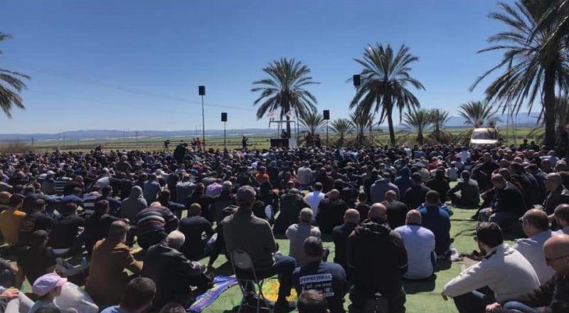 مشاركة المئات في الجديدة المكر احتجاجًا على مخطط الطنطور