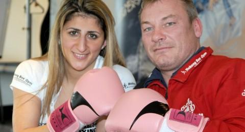 حما بطلة الملاكمة الألمانية رولا الحلبي يطلق النار على يديها وقدميها