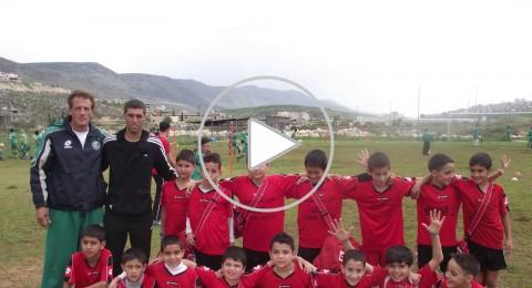 مسابقات وفعاليات بين مدارس عرابة ومجد الكروم بكرة القدم