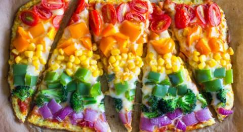 اليك، بيتزا خضراوات صحية بعجينة القرنبيط